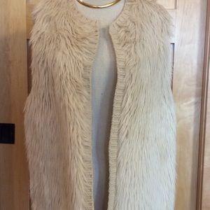 NWOT Fur Vest